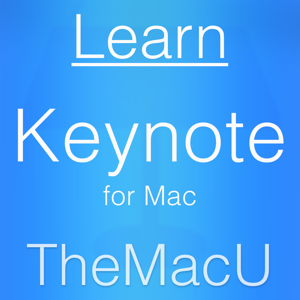 Keynote for Mac Tutorial Image