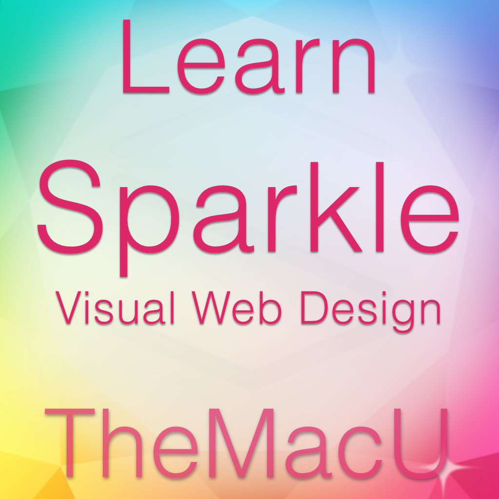 Sparkle Visual Web Design Tutorial Image