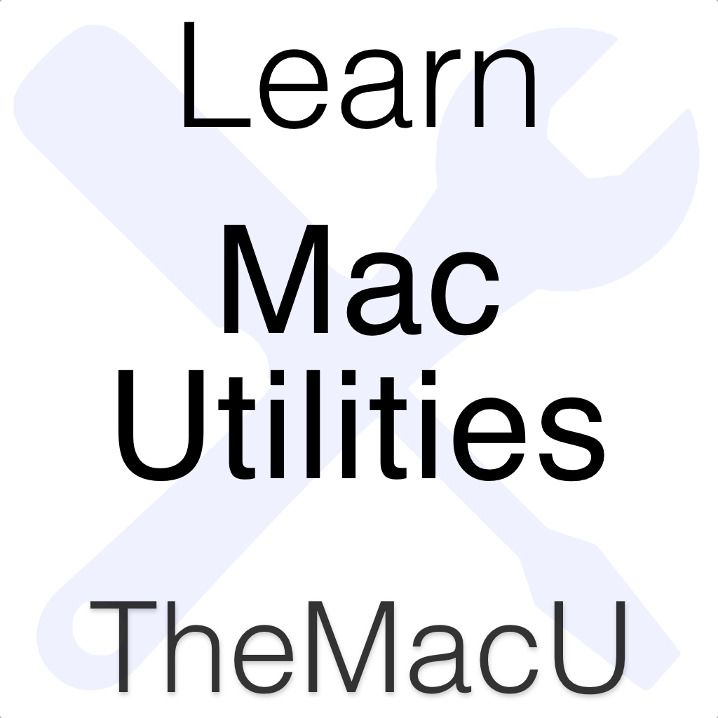 Mac Utilities Tutorial Image
