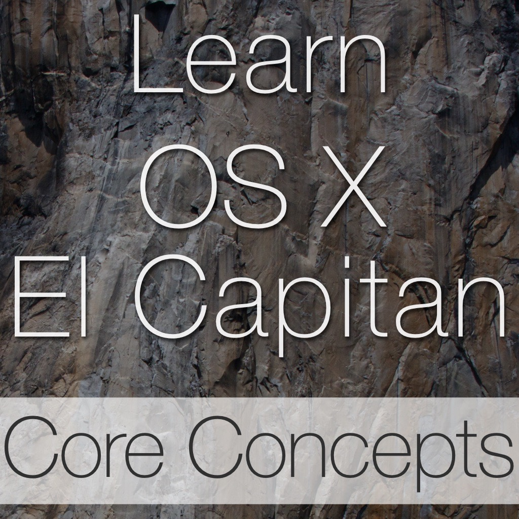 Mac OS X El Capitan Core Concepts Tutorial Image