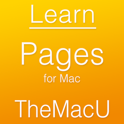 Pages for Mac Tutorial Image