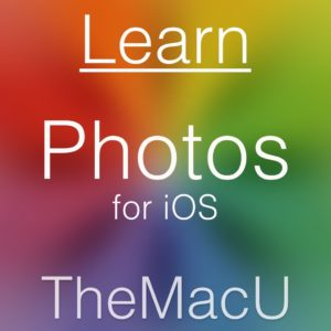 photos iOS tutorial