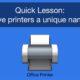 mac printer tutorial