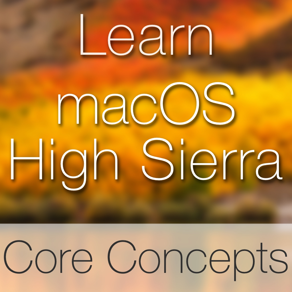macOS High Sierra Core Concepts Image