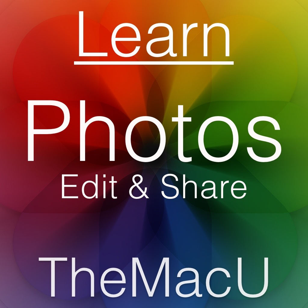 Photos for Mac Edit & Share Tutorial Image