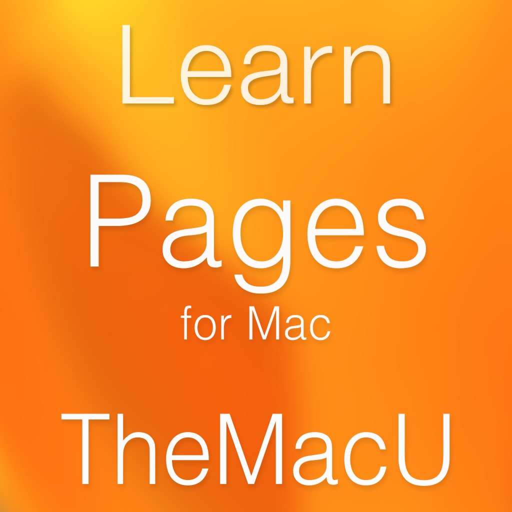 Pages for Mac Tutorial (2018+) Image