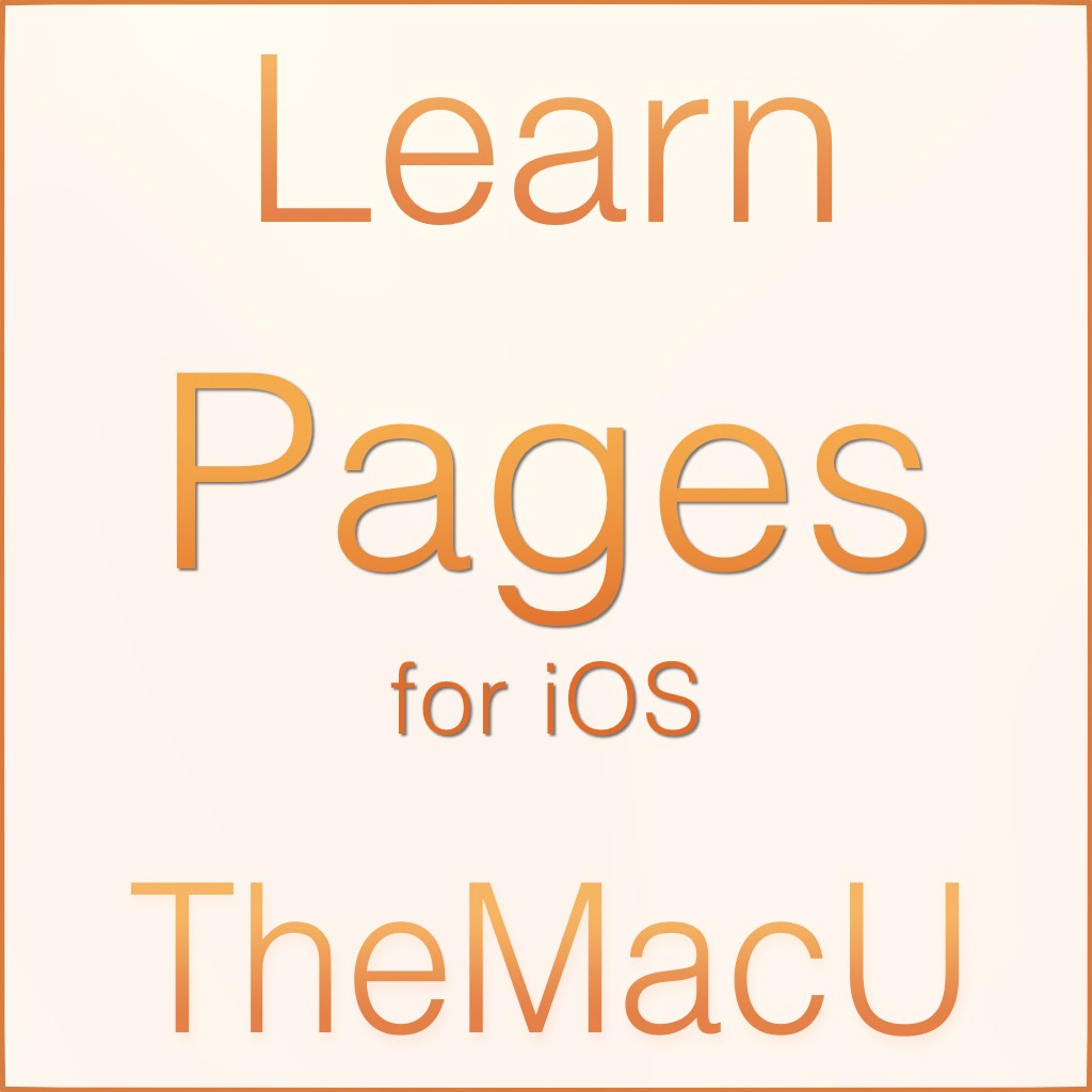 Pages for iOS Tutorial Image