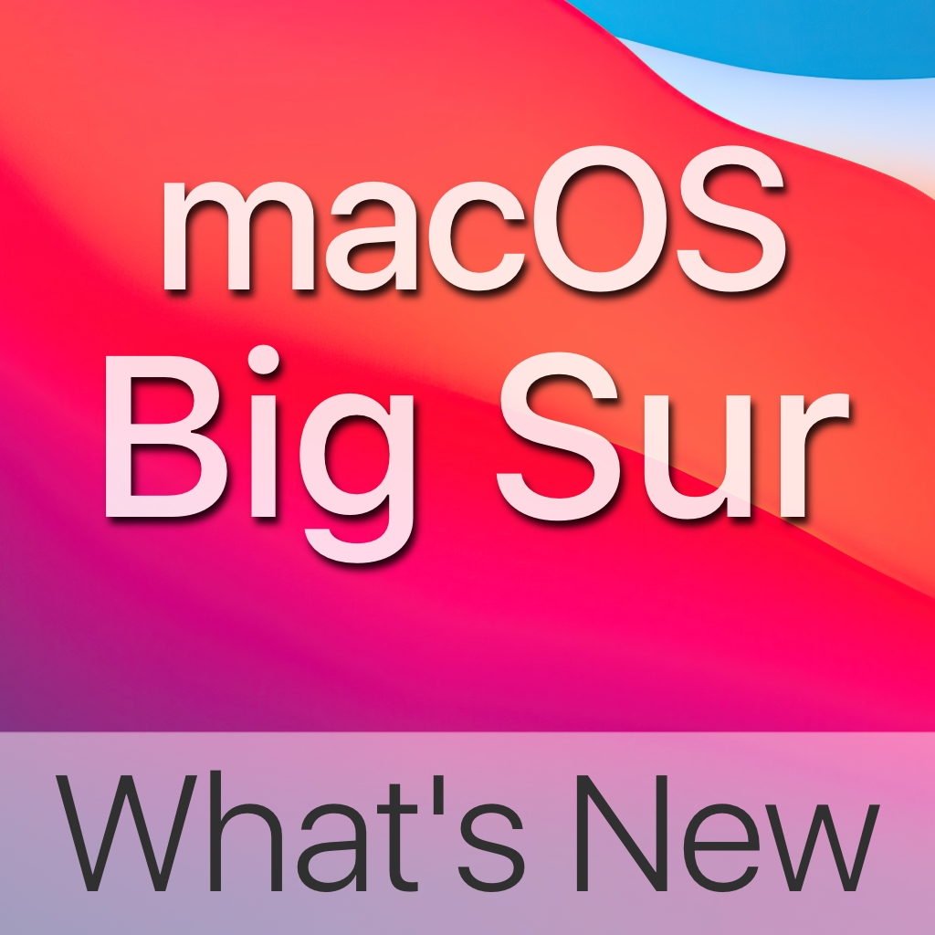 macOS Big Sur What